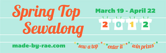 Spring Top Sewalong 2012